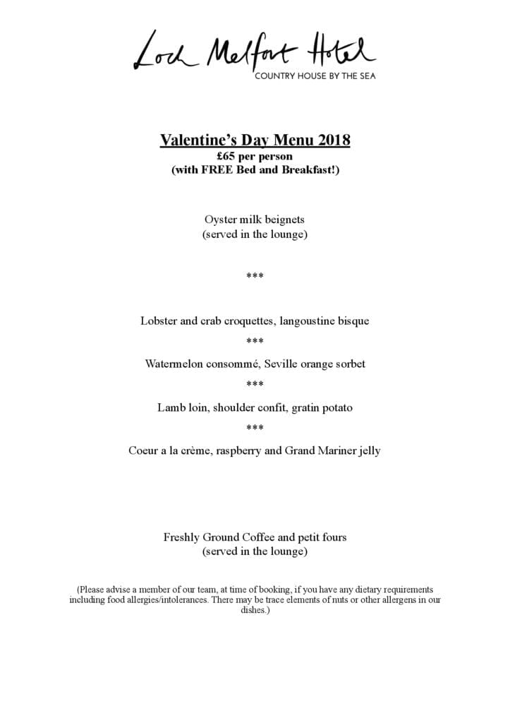 thumbnail of 2018-Valentine-day-menu