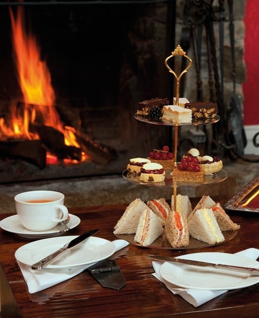 Afternoon Tea at Loch Melfort Hotel