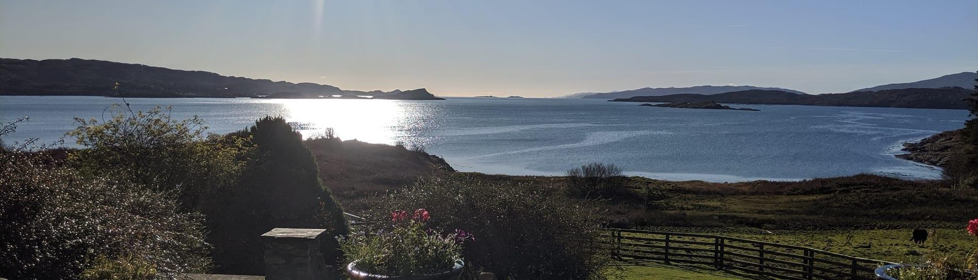 Loch Melfort Hotel View