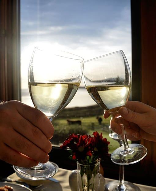 Wine at Loch Melfort Hotel 510x625