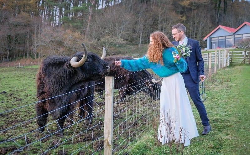 unusual wedding scotland