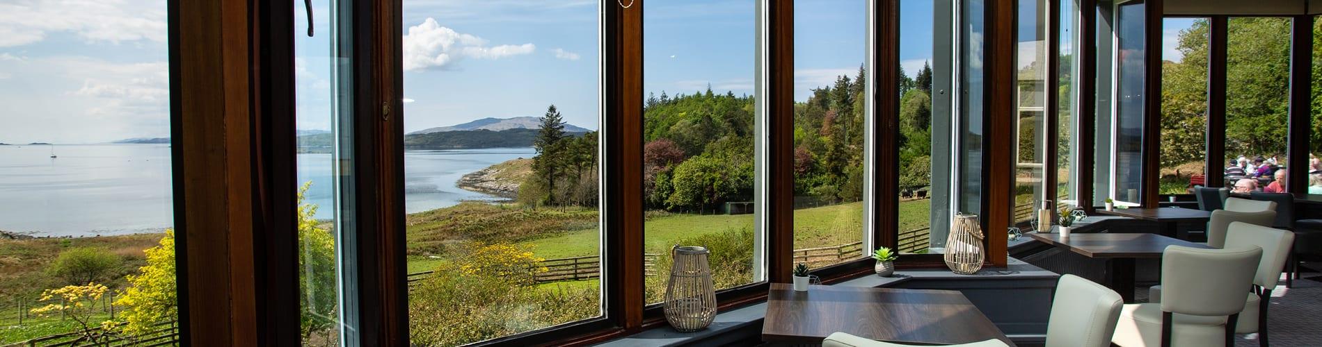 Dining at Loch Melfort Hotel