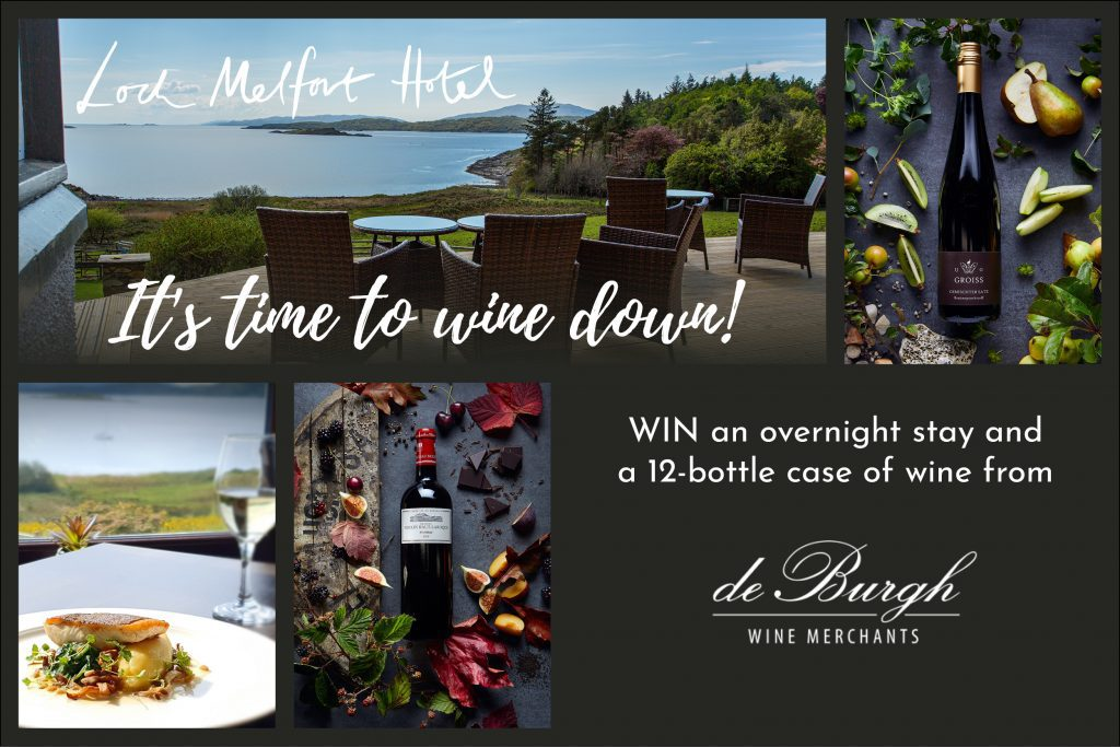 Win an overnight stay and a case of wine