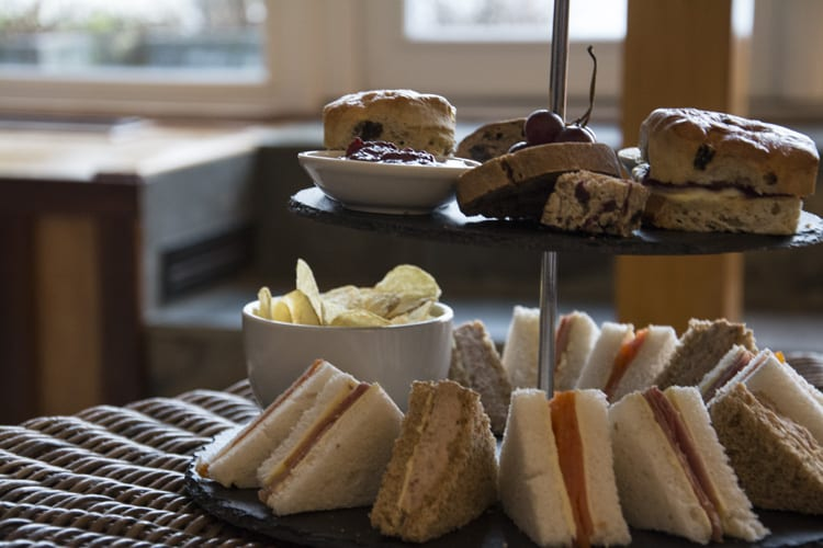 loch melfort hotel oban afternoon tea