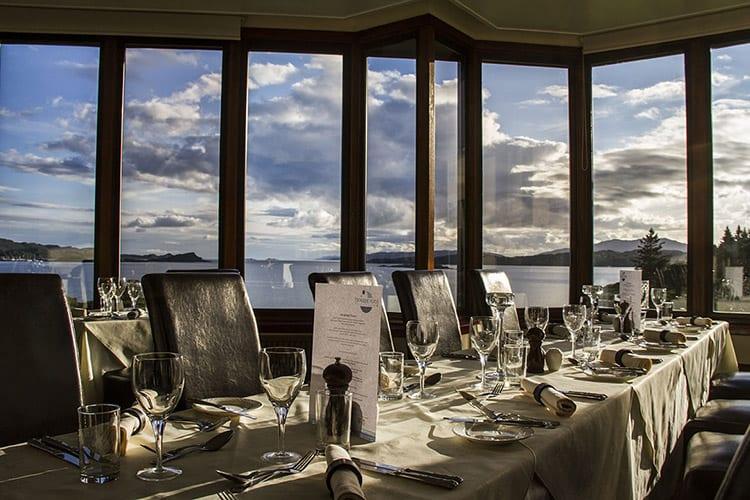Loch Melfot Oban Hotel, Restaurant view
