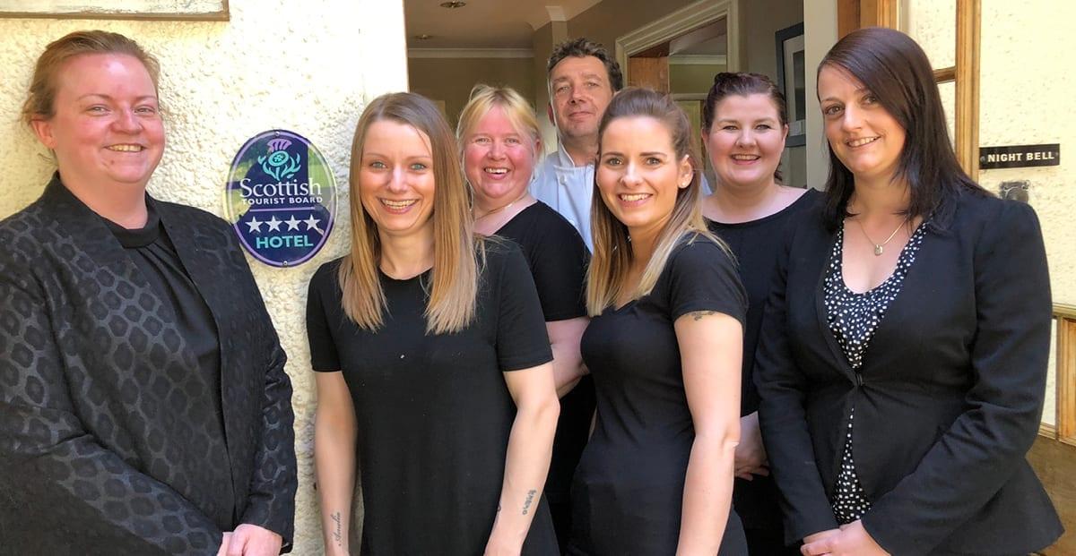 4 Stars Awarded by Visit Scotland | Loch Melfort Hotel