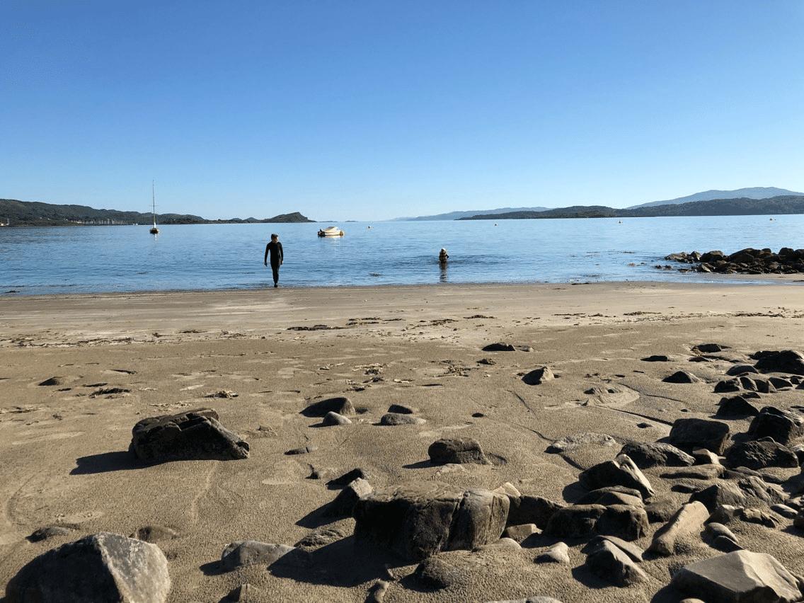 Wild Swimming at Loch Melfort