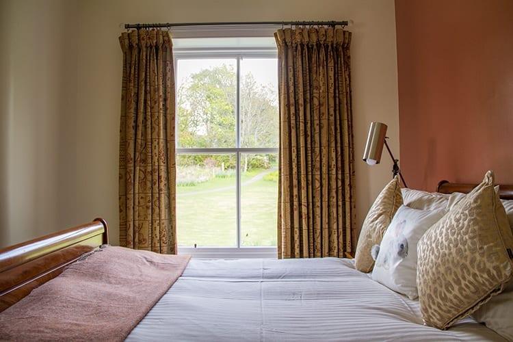 loch melfort hotel oban bedroom garden view