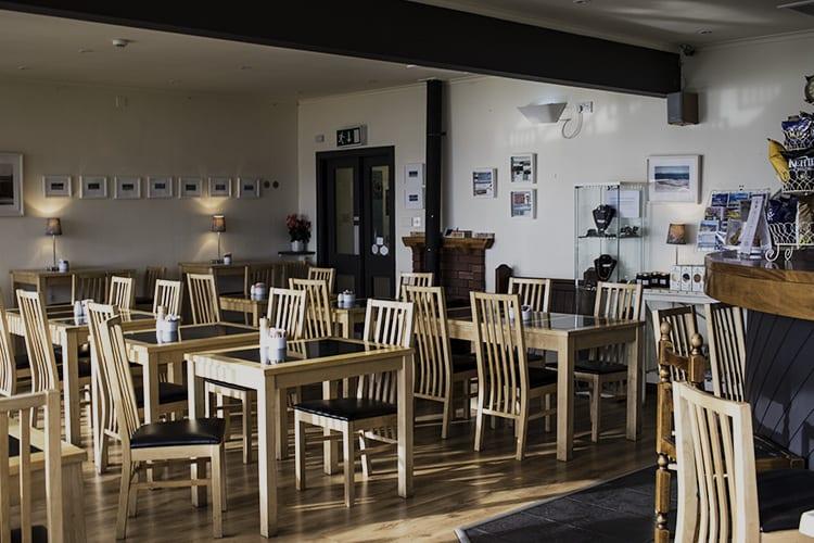 loch melfort hotel oban chartroom II bistro setting