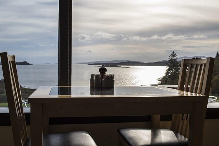 loch melfort hotel oban chartroom II bistro view