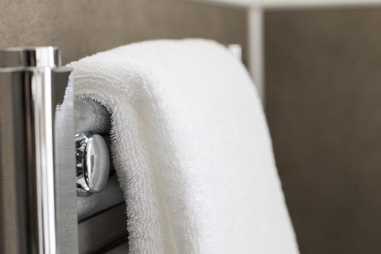 loch melfort hotel oban main house garden view towel rail