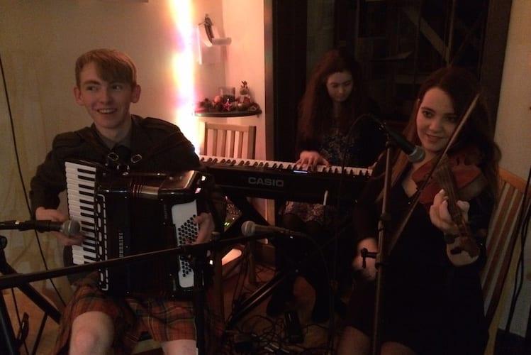 loch melfort hotel oban music night