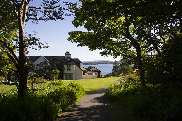 loch melfort hotel oban summer special back hotel sea view
