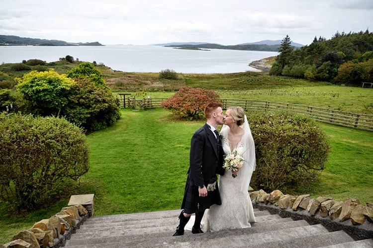 loch melfort hotel oban wedding main