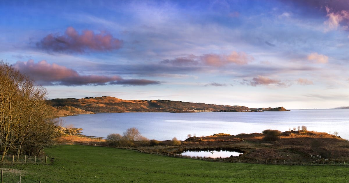 loch melfort hotel panoramic view