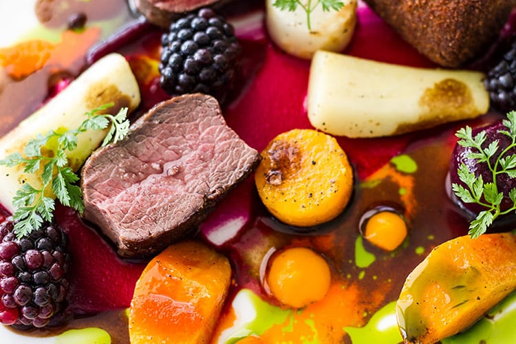 loch melfort hotel seasonal tasting menu november