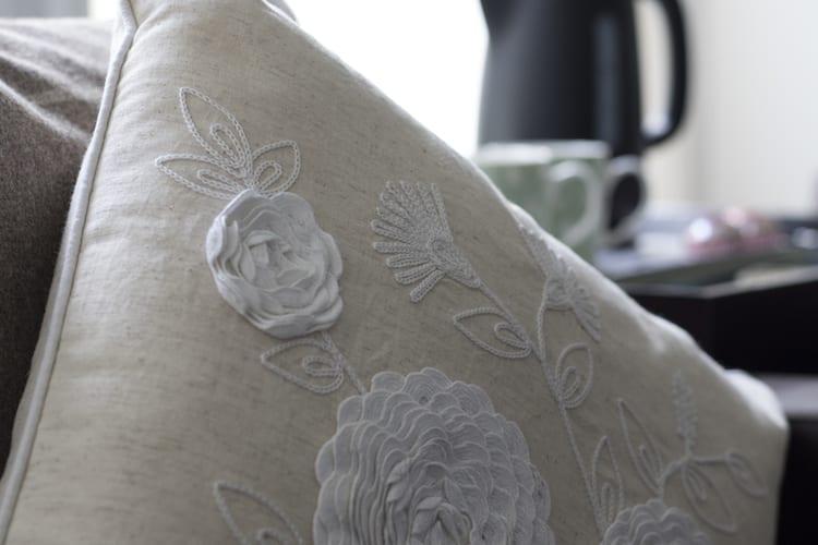 loch melfort main house garden room cushion