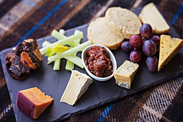 Loch Melfort Oban Hotel, Cheese Board