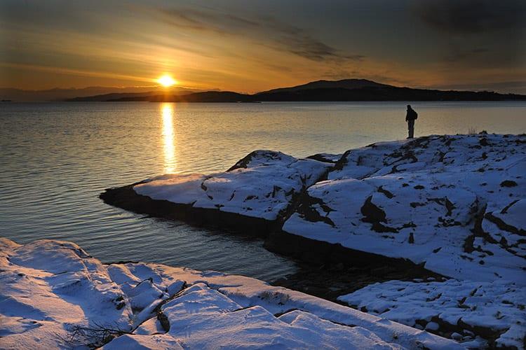 Loch Melfort Oban Hotel, Winter View