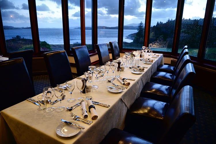 Loch Melfort Oban Hotel, Dining