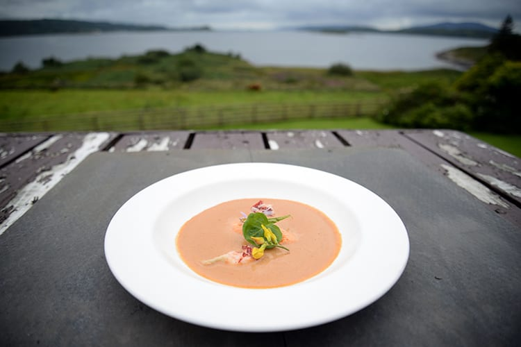 Loch Melfort Oban Hotel, Dish