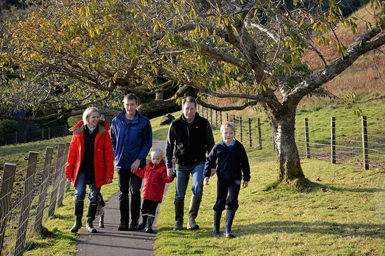 Loch Melfort Oban Hotel, Family
