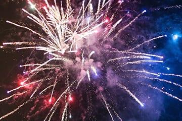 Loch Melfort Oban Hotel, Fireworks