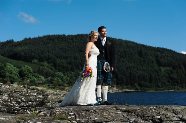Loch Melfort Oban Hotel, Happy Couple