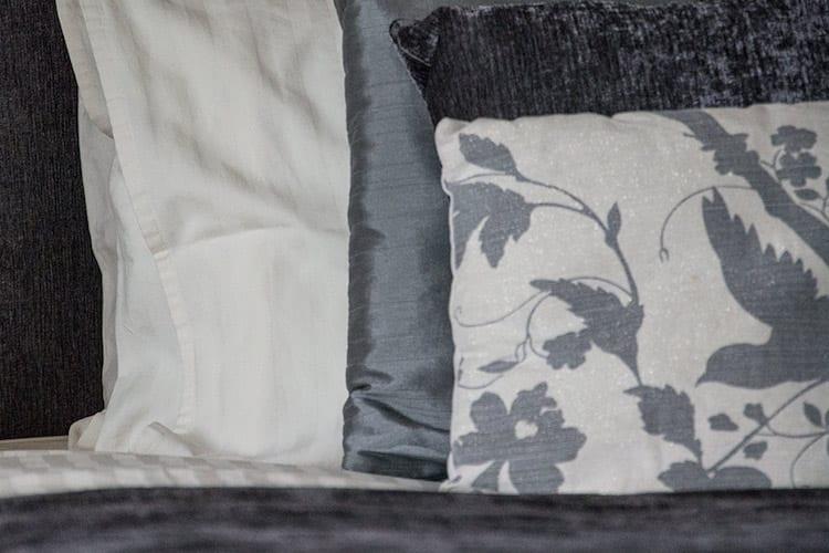 loch melfort oban hotel main house bedroom bedding