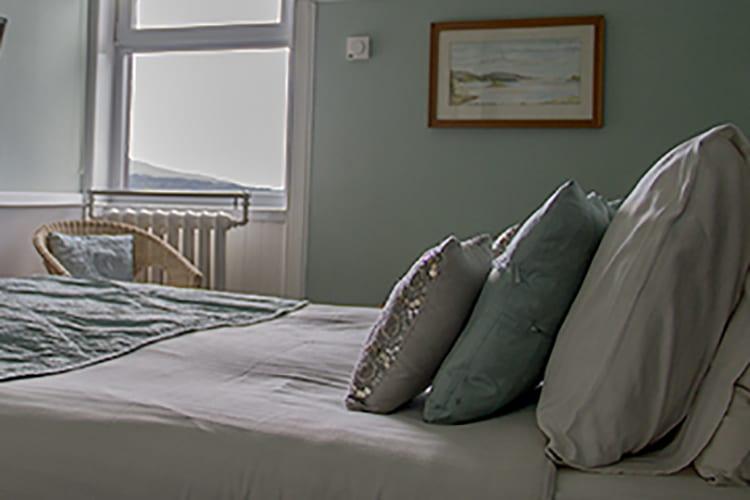 loch melfort oban hotel main house bedroom