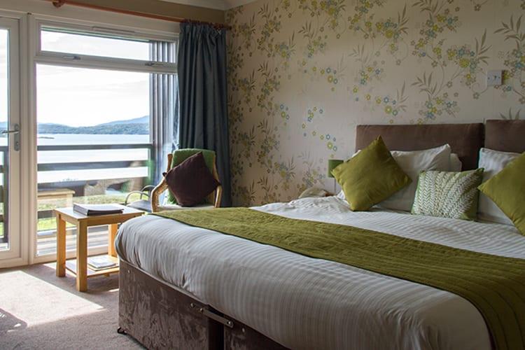 loch melfort oban hotel pet friendly bedroom